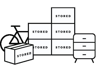 25 sqt ft student storage unit